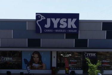 Tienda de JYSK más eficiente energéticamente