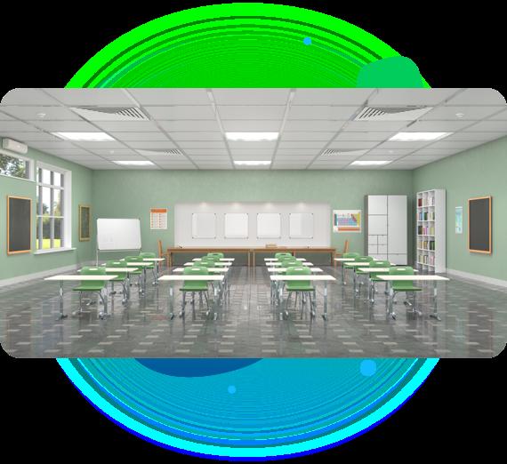 Linkener eficiencia energética en colegios