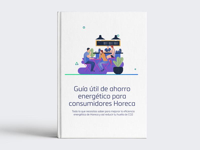 Portada del libro de Guía útil de ahorro energético para consumidores Horeca